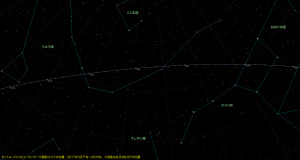 タットル・ジャコビニ・クレサーク彗星(41P)星図