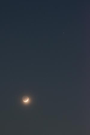20170330月と火星
