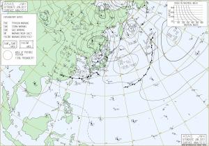 20170609-0300JST地上天気図