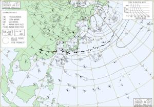 20170629-0900地上天気図