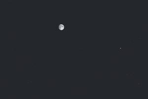 20170707月と土星