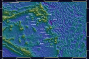 海底地形・天文由来2-1