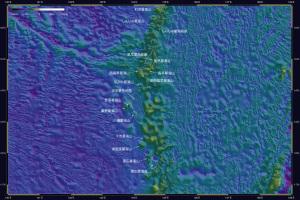 海底地形・天文由来2-3