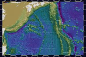 海底地形・天文由来1-0