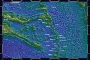 海底地形・天文由来1-1