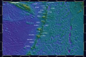 海底地形・天文由来1-2