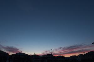 20170803夜明けと金星