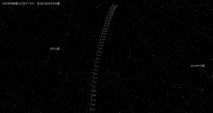 ASASSN彗星(C/2017 O1)星図・11月