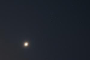 20170904金星とプレセペ星団の接近