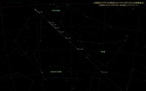 2012TC4星図1