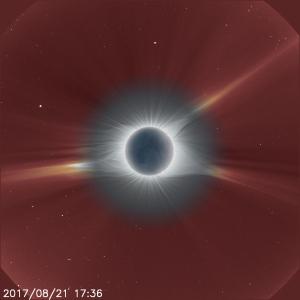 20170821皆既日食+SOHO