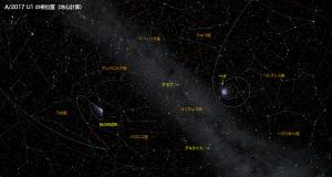 A/2017 U1星図3