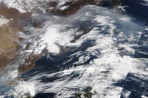 20171101MODIS衛星画像