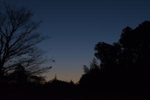 171112金星と木星の接近