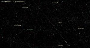 ハインゼ彗星(C/2017 T1)星図5