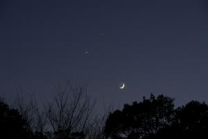20081201・月・金星・木星
