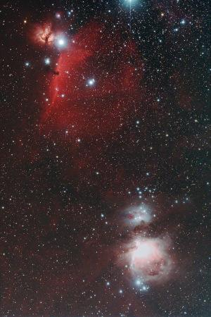 20171122馬頭星雲からオリオン大星雲