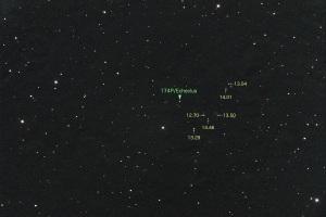 20171209エケクルス彗星(174P)