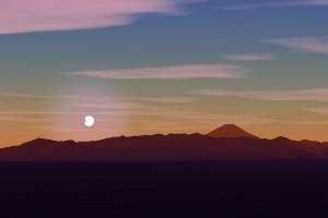 20191226都庁からの日没日食シミュレート