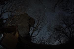 20130213北斗岩と北斗七星