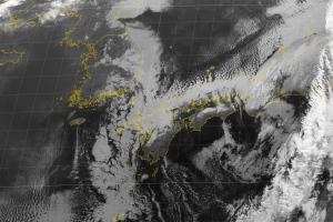 20180309-1900気象衛星画像(赤外バンド7)