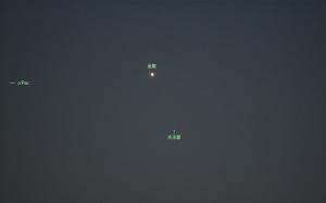20180329金星と天王星の接近