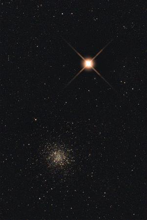 20170402火星とM22の接近