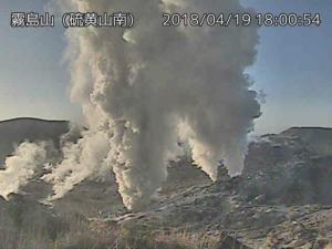 20180419-1800霧島硫黄山ライブカメラ