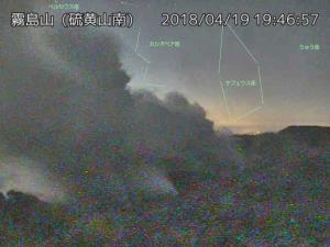 20180419-1946霧島硫黄山ライブカメラ
