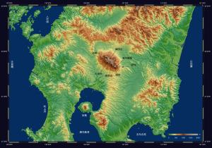 霧島連山周辺地図