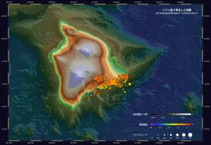 20180505ハワイ島地震分布