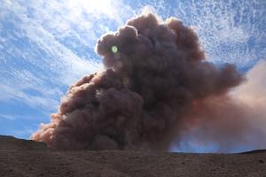 20180503プウ・オオ火口の噴煙
