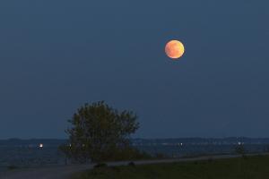 20050424月出半影月食