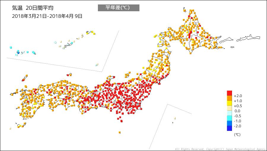 20180321-20日間気温