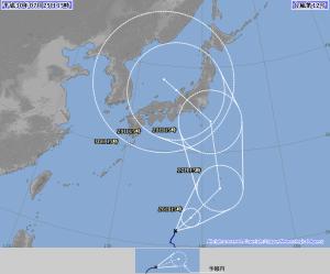 20180725-1500の台風12号予報
