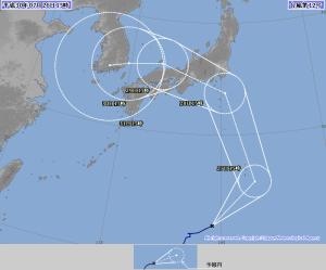 20180726-1500の台風12号予報