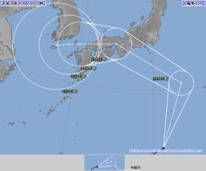 20180727-0300の台風12号予報