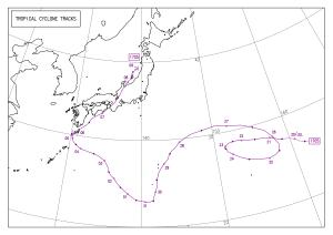 2017年台風5号