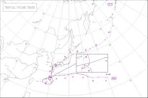 1964年台風14号