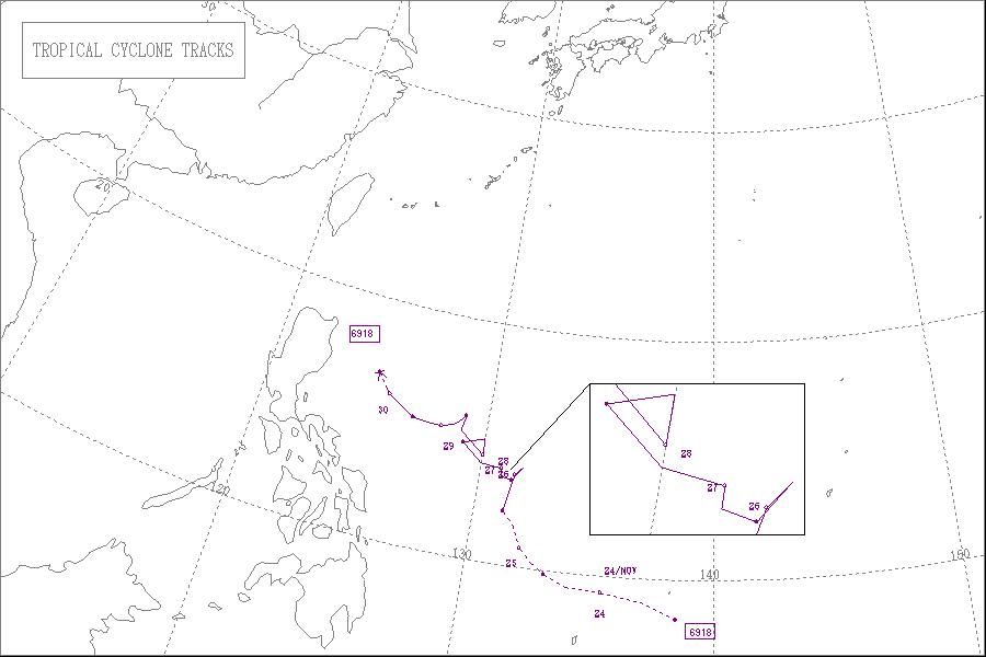 1969年台風18号