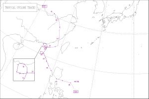 1972年台風8号