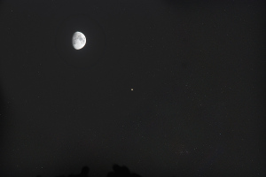 20180821月と土星の接近