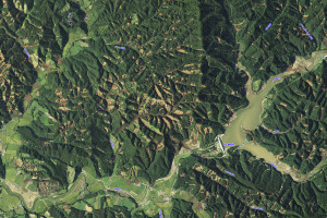 GSI北海道・厚真川地区・航空画像(20180906)