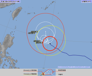 20180924-1500JST台風24号予報円