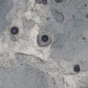 月面A地形周辺