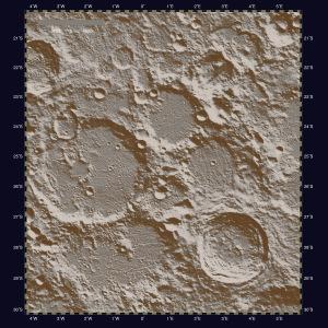 月面X・陰影図