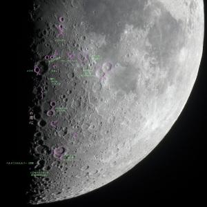 月面ハートなどの例