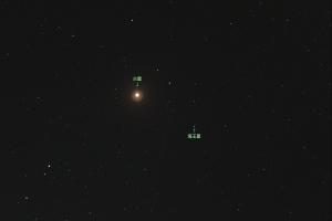 20181208火星と海王星の接近
