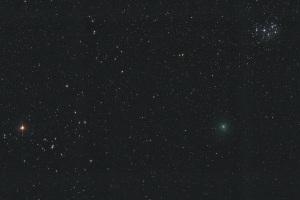 20181215ウィルタネン彗星とすばる・ヒアデス