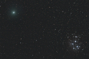 20181215ウィルタネン彗星とすばる